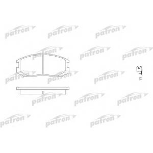 PATRON PBP759 Комплект тормозных колодок, дисковый тормоз Дайхатсу Астраи