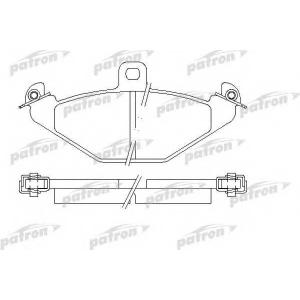 PATRON PBP878 Комплект тормозных колодок, дисковый тормоз Крайслер Випер