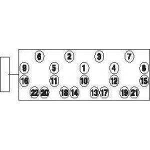 PAYEN HBS015 Болти з шестигранною гол.