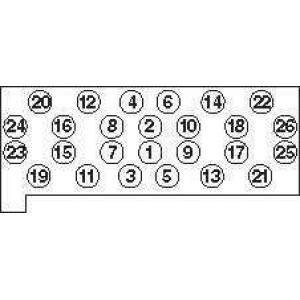 PAYEN HBS060 Болт головки блока (компл.) MB OM603 (пр-во PAYEN)