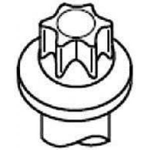 PAYEN HBS245 Болт головки блока (компл.) PSA 1.9D DW8 (пр-во PAYEN)