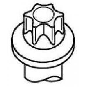 PAYEN HBS543 Комплект болтів двигуна з фігурною головкою