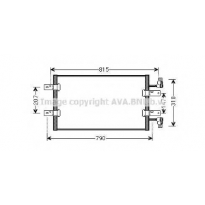 PRASCO RTA5451 AC condenser