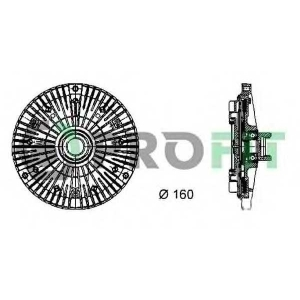 PROFIT 1720-2011 Муфта вентилятору