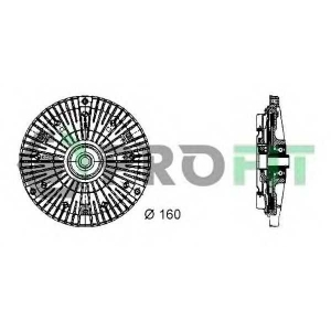 PROFIT 1720-3010 Муфта вентилятору