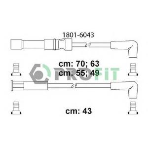 PROFIT 1801-6043 Комплект кабелів високовольтних
