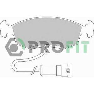 PROFIT 5000-0276 Колодки гальмівні дискові