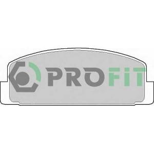 PROFIT 5000-0372 Колодки гальмівні дискові