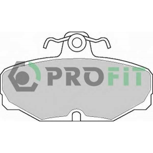 PROFIT 5000-0398 Колодки гальмівні дискові