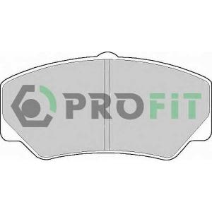 PROFIT 5000-0450 Колодки гальмівні дискові