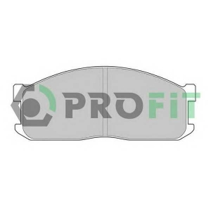 PROFIT 5000-0547 Комплект тормозных колодок, дисковый тормоз Киа Беста