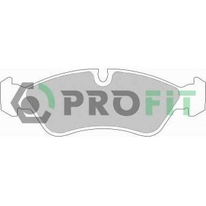 PROFIT 5000-0584 Колодки гальмівні дискові