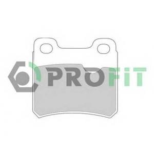 PROFIT 5000-0586 Колодки гальмівні дискові