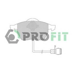 PROFIT 5000-0590 Колодки гальмівні дискові