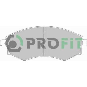 PROFIT 5000-0600 Колодки гальмівні дискові