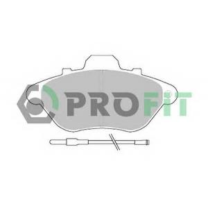 PROFIT 5000-0623 Колодки гальмівні дискові