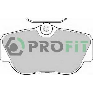 PROFIT 5000-0669 Колодки гальмівні дискові
