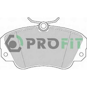 PROFIT 5000-0686 Колодки гальмівні дискові