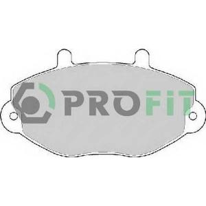 PROFIT 5000-0701 Колодки гальмівні дискові