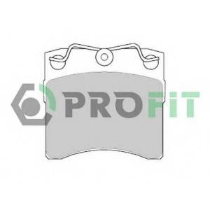 PROFIT 5000-0722 Колодки гальмівні дискові