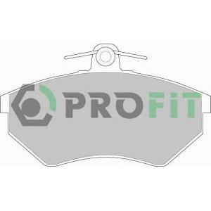 PROFIT 5000-0775 Колодки гальмівні дискові