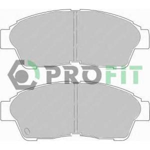 PROFIT 5000-0867 Колодки гальмівні дискові