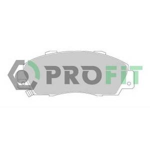 PROFIT 5000-0905 Колодки гальмівні дискові