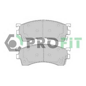 PROFIT 5000-0950 Колодки гальмівні дискові