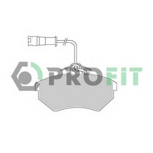 PROFIT 5000-0954 Колодки гальмівні дискові