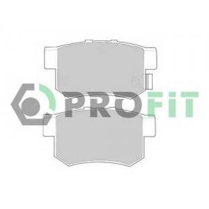 PROFIT 5000-0956 Колодки гальмівні дискові