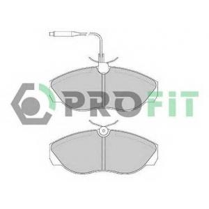 PROFIT 5000-0967 Колодки гальмівні дискові