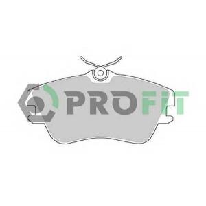 PROFIT 5000-0970 Колодки гальмівні дискові