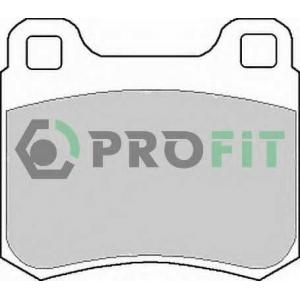 PROFIT 5000-0979 Колодки гальмівні дискові