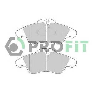 PROFIT 5000-1038 Колодки гальмівні дискові