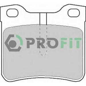 PROFIT 5000-1044 Колодки гальмівні дискові
