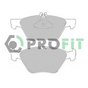 PROFIT 5000-1050 Колодки гальмівні дискові