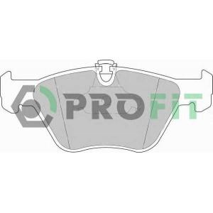 PROFIT 5000-1073 Колодки гальмівні дискові