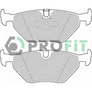 PROFIT 5000-1075 Колодки гальмівні дискові