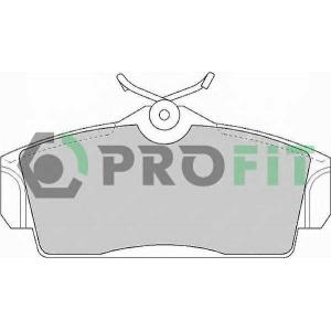 PROFIT 5000-1096 Колодки гальмівні дискові