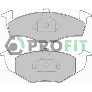 PROFIT 5000-1101 Колодки гальмівні дискові