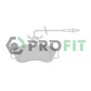 PROFIT 5000-1112 Колодки гальмівні дискові