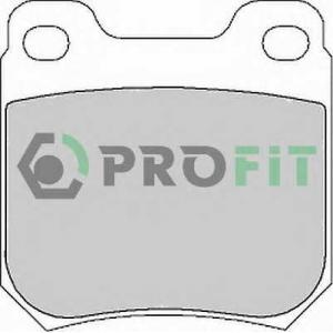 PROFIT 5000-1117 Колодки гальмівні дискові
