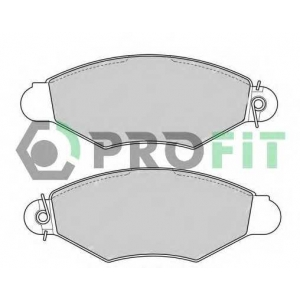 PROFIT 5000-1135 Колодки гальмівні дискові