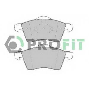 PROFIT 5000-1163 Колодки гальмівні дискові