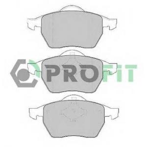 PROFIT 5000-1167 Колодки гальмівні дискові