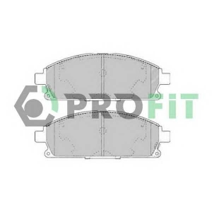 PROFIT 5000-1263 Колодки гальмівні дискові