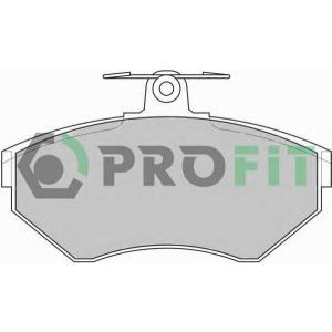 PROFIT 5000-1289 Колодки гальмівні дискові