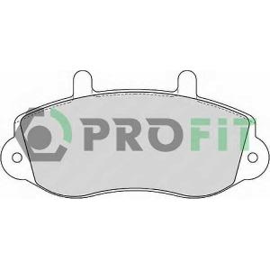 PROFIT 5000-1292 Колодки гальмівні дискові