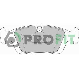PROFIT 5000-1300 Колодки гальмівні дискові