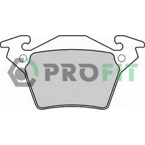 PROFIT 5000-1305 C Колодки гальмівні дискові